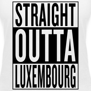 Luxembourg T-Shirts - Women's V-Neck T-Shirt