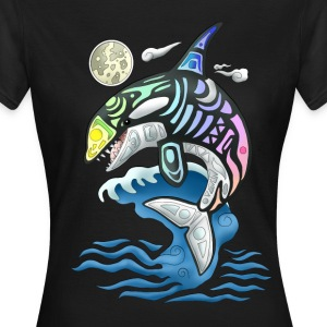 Rainbow Orca 2 - Frauen T-Shirt