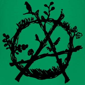 green anarchy eco - Kids' Premium T-Shirt