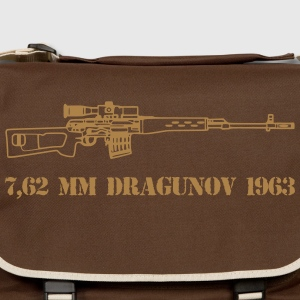 dragunov sniper red army - Shoulder Bag