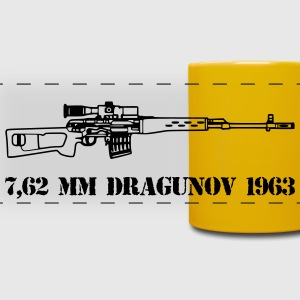 dragunov sniper red army - Full Color Panoramic Mug