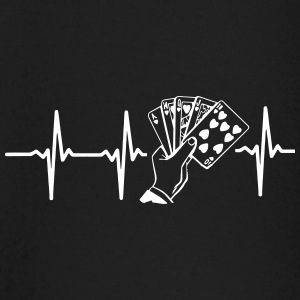 MY HEART BEATS FOR POKER! Baby Long Sleeve Shirts - Baby Long Sleeve T-Shirt