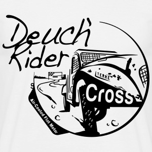 Deuch' rider cross - T-shirt Homme
