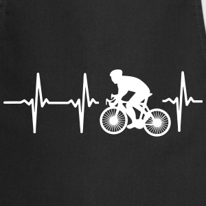 MY HEART BEATS FOR CYCLING!  Aprons - Cooking Apron