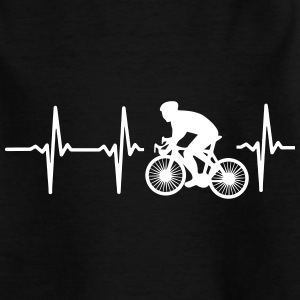MY HEART BEATS FOR CYCLING! Shirts - Teenage T-shirt
