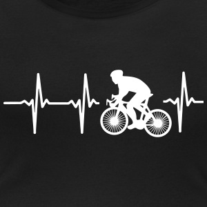 MY HEART BEATS FOR CYCLING! T-Shirts - Women's Scoop Neck T-Shirt
