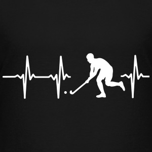 MIT HJERTE BANKER FOR HOCKEY! T-shirts - Teenager premium T-shirt
