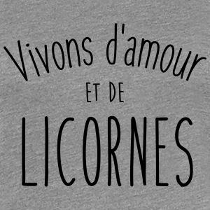 T shirt licorne spreadshirt - Image de licorne ...