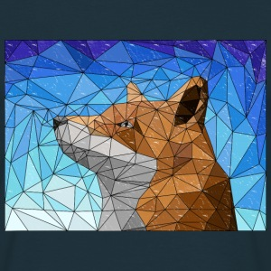 fox mosiac - Men's T-Shirt
