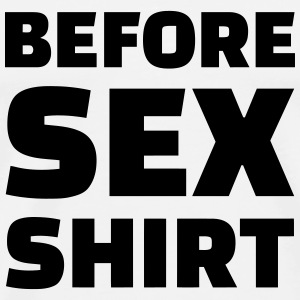 Sex - Sexy - Humor - Wife - Couple - Marriage T-Shirts - Men's Premium T-Shirt