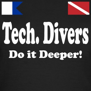 Tech Diver Deep - Women's T-Shirt