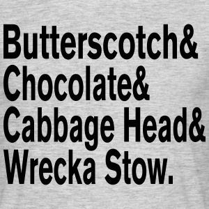 Butterscotch & Chocolate & Prince Questlove Helve T-Shirts - Men's T-Shirt