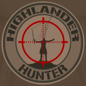 Highlander Hunter (Tan) Tee shirts - T-shirt Premium Homme