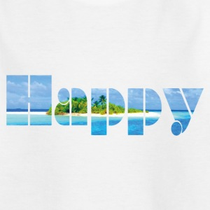 Happy - Teenager T-Shirt