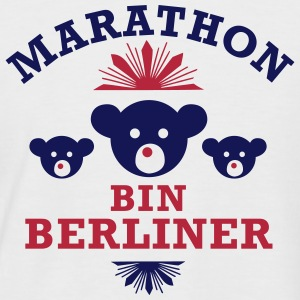 marathon_bin_berliner T-Shirts - Men's Baseball T-Shirt
