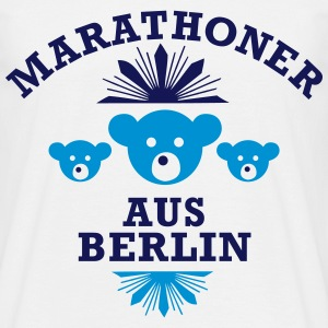 marathoner_aus_berlin T-Shirts - Men's T-Shirt