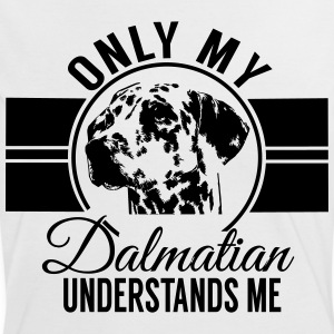 Only my Dalmatian understands me T-Shirts - Women's Ringer T-Shirt
