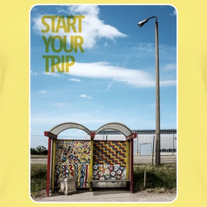 bus-stop start your trip Tops - Frauen Bio Tank Top