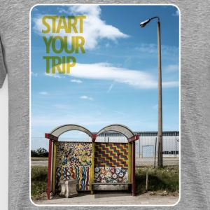 bus-stop start your trip T-Shirts - Männer Premium T-Shirt