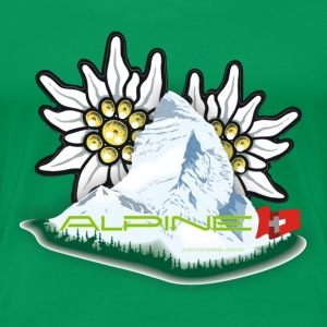 Alpine - Greenfee - Frauen Premium T-Shirt