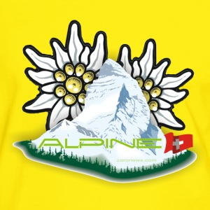 Alpine - Swiss do Brasil  - Männer Kontrast-T-Shirt