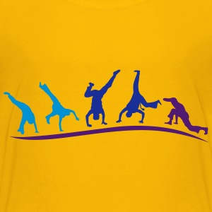 animation capoeira gruppe 120 T-Shirts - Teenager Premium T-Shirt