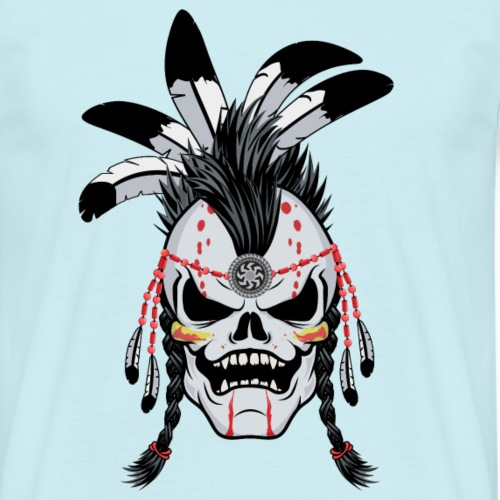 Indian Warrior Skull