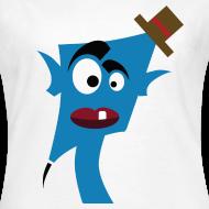Motif ~ Tête bleu  chapeau
