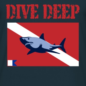 Dive Deep  - Men's T-Shirt
