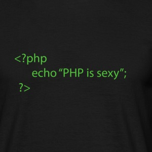 PHP is sexy - Männer T-Shirt