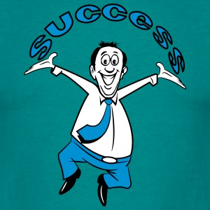 successful winner career joy T-Shirts - Men's T-Shirt