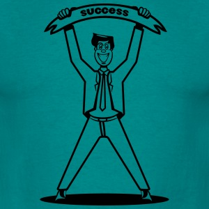 successful career winner T-Shirts - Men's T-Shirt