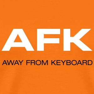 AFK Away from keyboard GAME OVER Geek - Männer Premium T-Shirt
