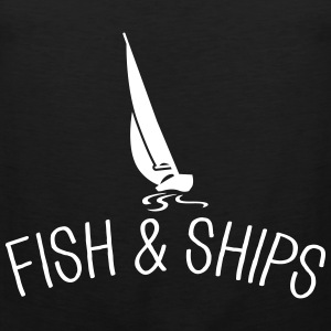 Fish and Ships Segelboot Sports wear - Men's Premium Tank Top
