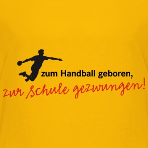 Handball Verein Schule Sport Team Training - Kinder Premium T-Shirt
