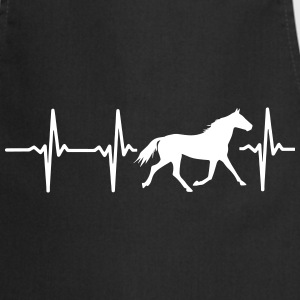 My heart beats for horses!  Aprons - Cooking Apron