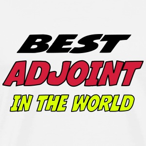 Best adjoint in the world T-Shirts - Men's Premium T-Shirt