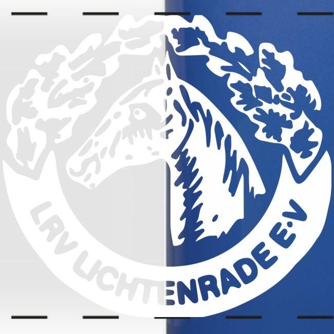 Panoramatasse mit LRV-Logo