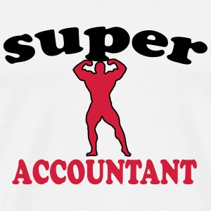 Super accountant T-Shirts - Men's Premium T-Shirt