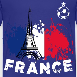 Football, France - T-shirt Kinder Size - Kinder Premium T-Shirt