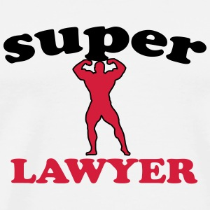 Super lawyer Tee shirts - T-shirt Premium Homme