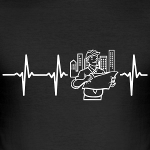 HEART ENGINEER! T-Shirts - Men's Slim Fit T-Shirt