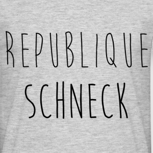 Republique Schneck - T-shirt Homme