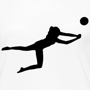 Beachvolleyball - Volleyball Manga larga - Camiseta de manga larga premium mujer