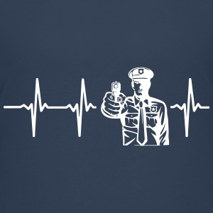 FROM THE HEART A COP! Shirts - Teenage Premium T-Shirt
