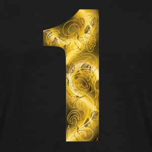 number one T-shirts - Mannen T-shirt
