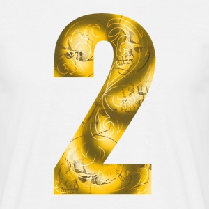 number two T-shirts - T-shirt herr