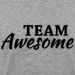 Team Awesome T-shirts - Mannen Premium T-shirt