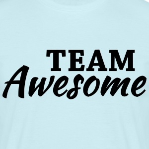 Team Awesome T-shirts - Mannen T-shirt