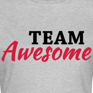 Team Awesome T-skjorter - T-skjorte for kvinner